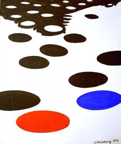 Alexander Calder Day and Night Saucers