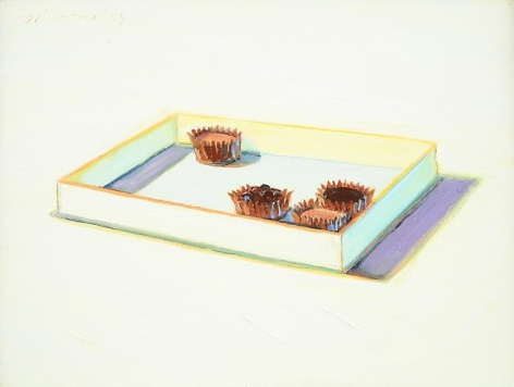 Wayne Thiebaud Chocolate Pieces