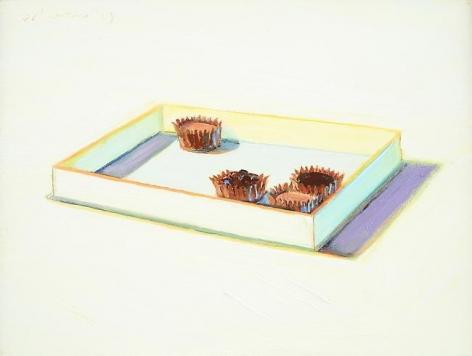 Wayne Thiebaud Chocolate Pieces