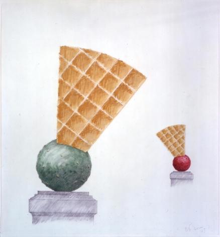 Claes Oldenburg & Coosje van Bruggen,