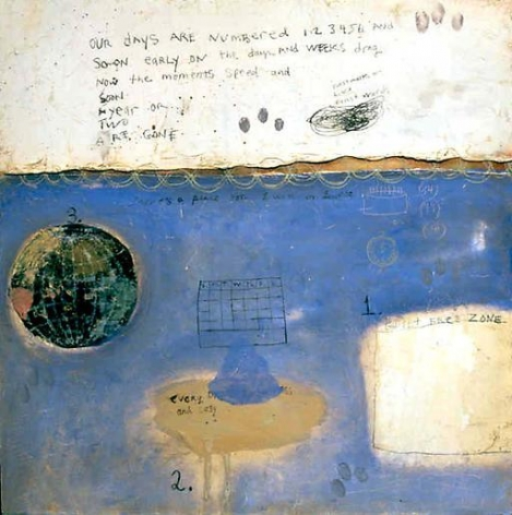 Squeak Carnwath Numbered Moments, 2001
