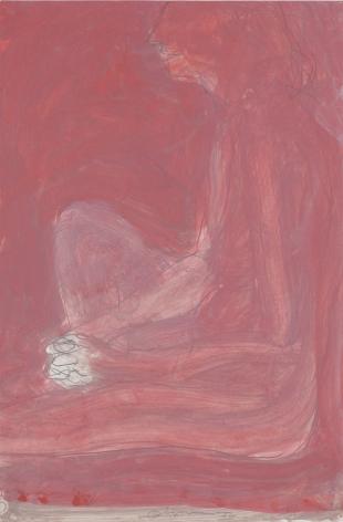 Nathan Oliveira Bleeker Nude #4, 1972