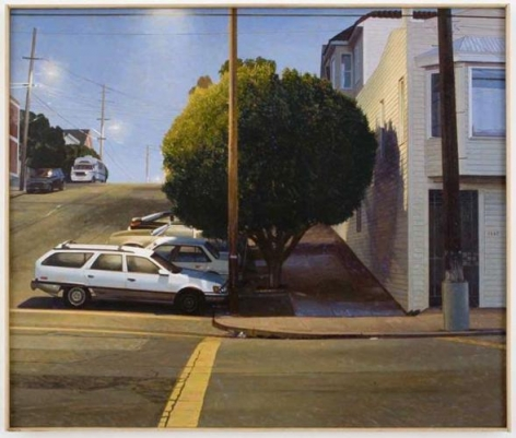 Robert Bechtle 20th and Texas, Early Evening
