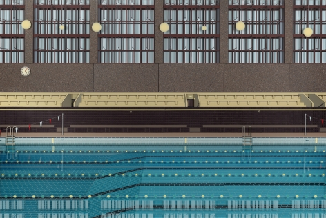 Lucy Williams, The Winter Pool, 2017
