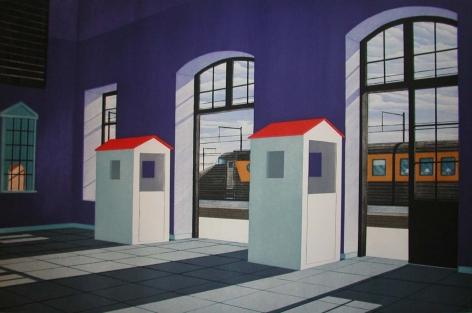 Tom McKinley Train Station, 1997