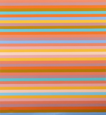 Bridget Riley, Green Painting, 2014