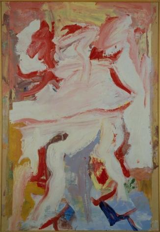 Willem de Kooning, No Title, 1972