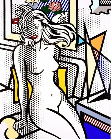 Roy Lichtenstein, Nude with Yellow Pillow, 1993