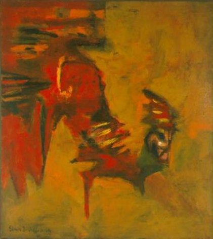 Untitled 1948 oil on canvas