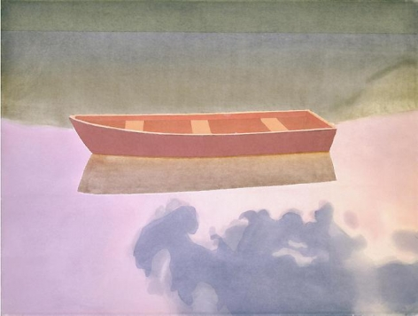 Rowboat in Water