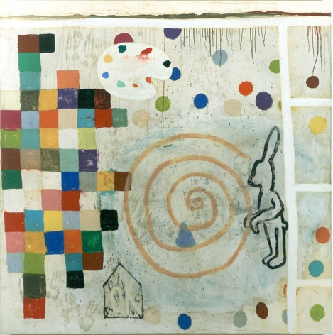 Squeak Carnwath Attempting to Be Happy, 2000