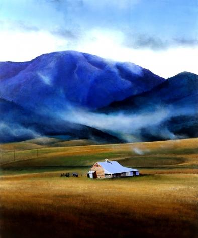 Michael Gregory, Blue Veil, 2017