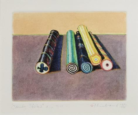 WayneThiebaud Candy Sticks, 1964-1980/99