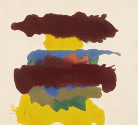 Helen Frankenthaler, Weather Change, 1963