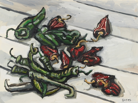 David Bates Chilies and Poblano Peppers, 1990-91