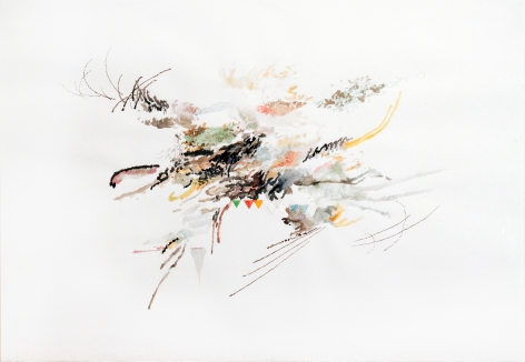 Julie Mehretu , Untitled, 2006