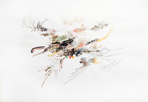 Julie Mehretu, Untitled, 2006