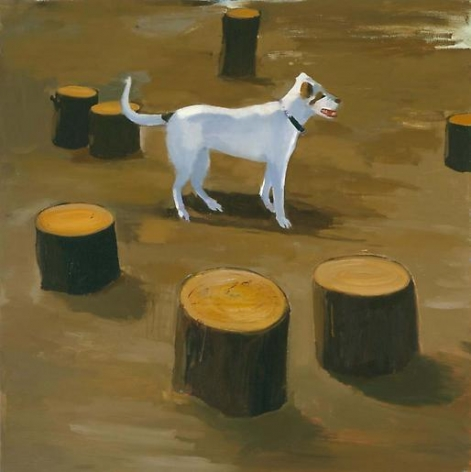 Stumped 2006 oil on linen