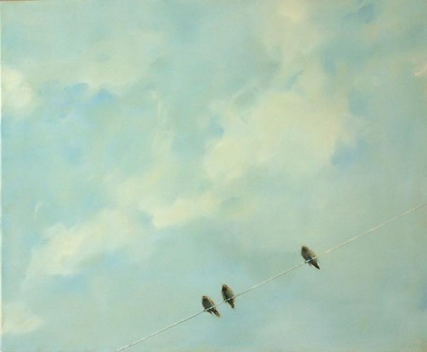 Three Birds, One Line