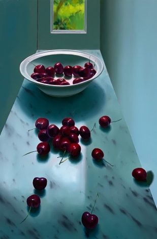 Bruce Cohen Still Life with Bowl of Cherries, 2020