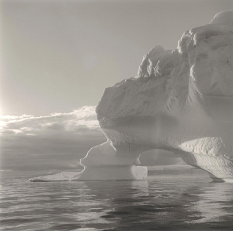 Lynn DavisIceberg 24, Disko Bay, Greenland,2000Gelatin silver enlargement print40 x 40 inchesEdition of 10