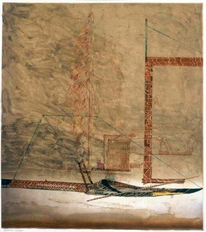 Nathan Oliveira Pessoa's Sleigh II, 2000