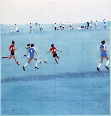 Isca Greenfield-Sanders Field and Hollow Road II, 2010