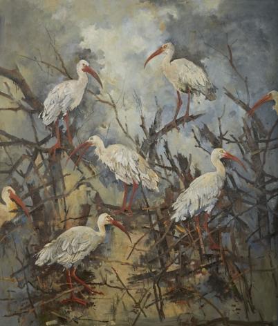 John Alexander, Dreams of the Mighty Ibis, 2016