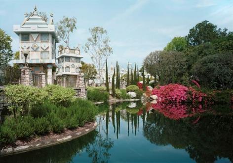 Thomas Struth Pond, Anaheim, California 2013,2013