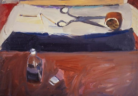 Richard Diebenkorn Still Life with Scissors