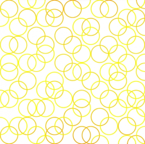 Bridget Riley, Two Yellows, Composition with Circles 2,2011