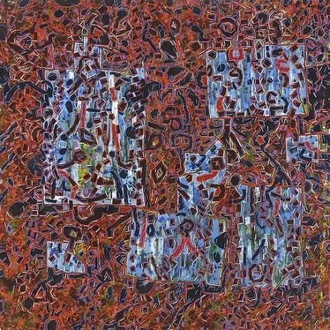 Santiago 1968 oil on canvas