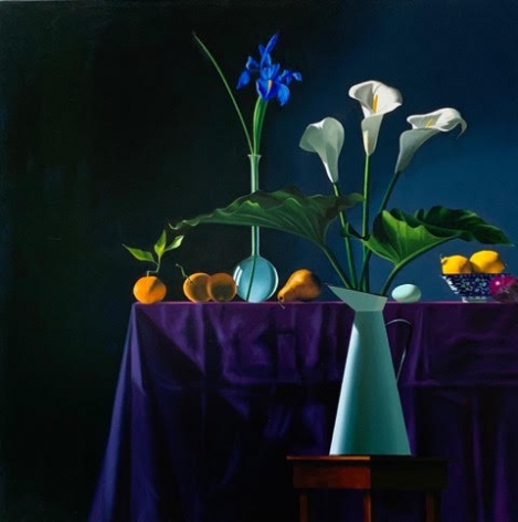 Bruce Cohen Still Life with Calla Lilies in Pitcher, 2020