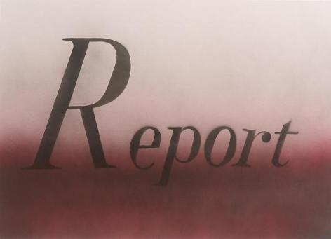 Ed Ruscha Report
