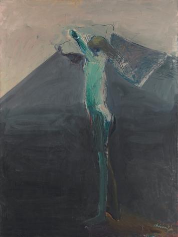 Nathan Oliveira, Woman Undressing, 1961