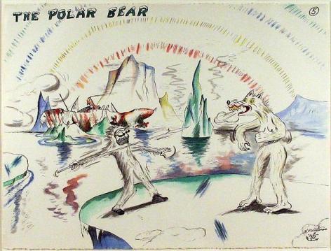 H.C. Westermann The Polar Bear, 1972