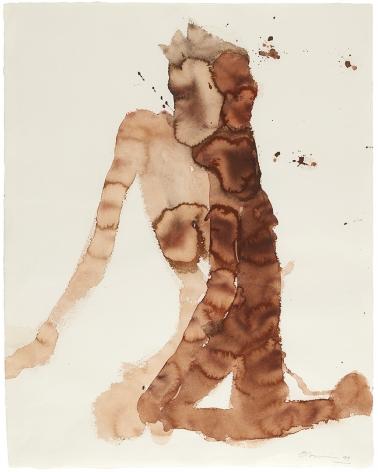 Nathan Oliveira Untitled Santa Maria Nude, 1999