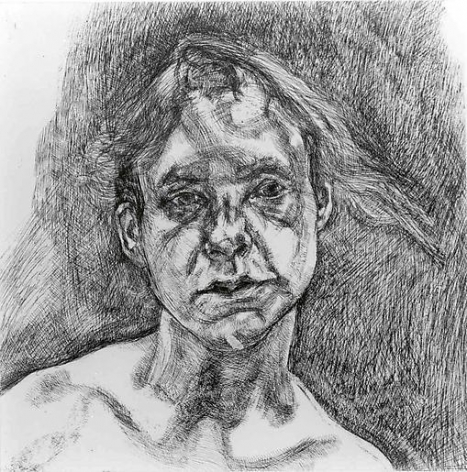 Head of a Naked Girl