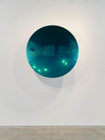Anish Kapoor Teal Mirror, 2011