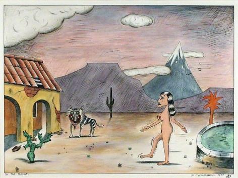 H.C. Westermann In the Desert, 1977