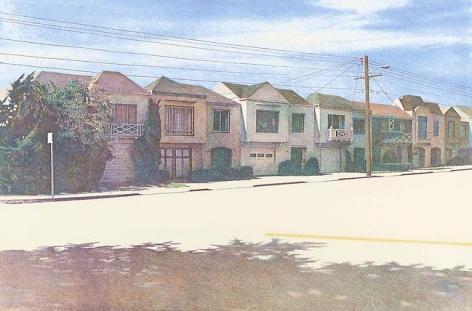 Robert Bechtle Sunset Street, 1982