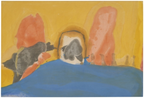 Helen Frankenthaler Center Break, 1963