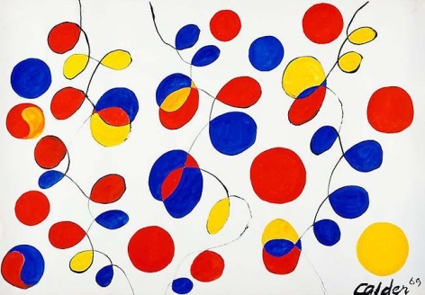 Untitled 1969 gouache on paper