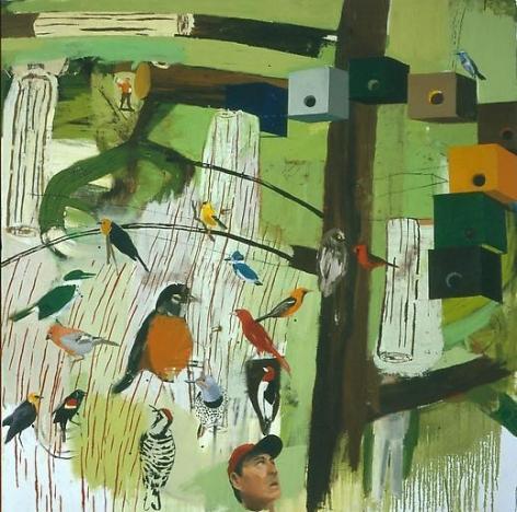 The Birder Logs On