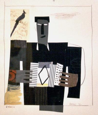 David Bates Untitled, Zydeco, 1996