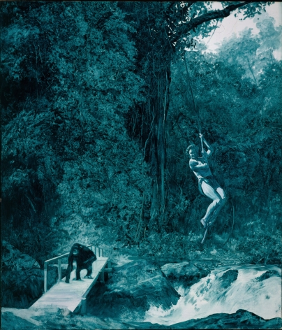 Mark Tansey, Natures Ape, 1984
