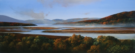 Michael Gregory October on the Hudson, 2020