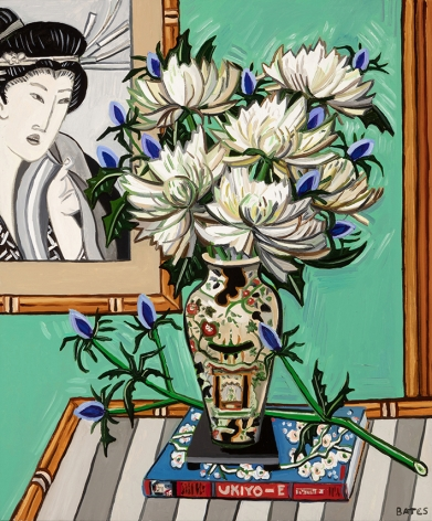 David Bates Mums and Thistles, 2017