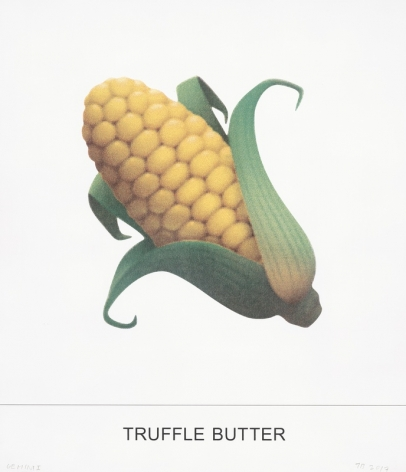 John Baldessari TRUFFLE BUTTER, 2018