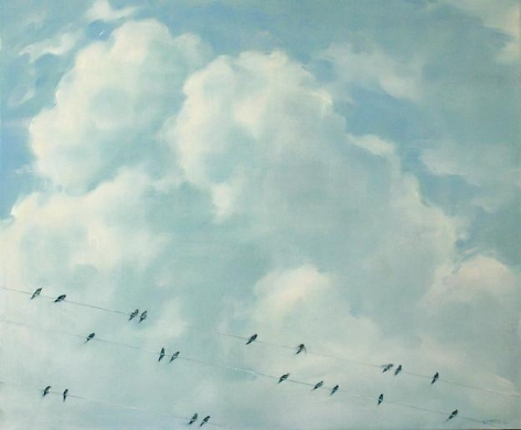 Black Birds, Three Lines